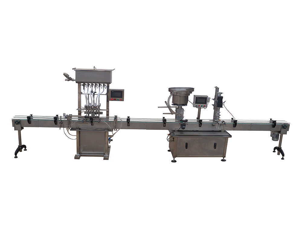Small Fully Automatic Liquid Filling Production Line(LF-6H)