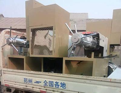 The Delivery of Oil Press Machine
