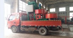 Yunnan Client Ordering colored-cement-tile machine.