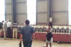 Nigeria Clients Ordering Economic Steel Tile Machine