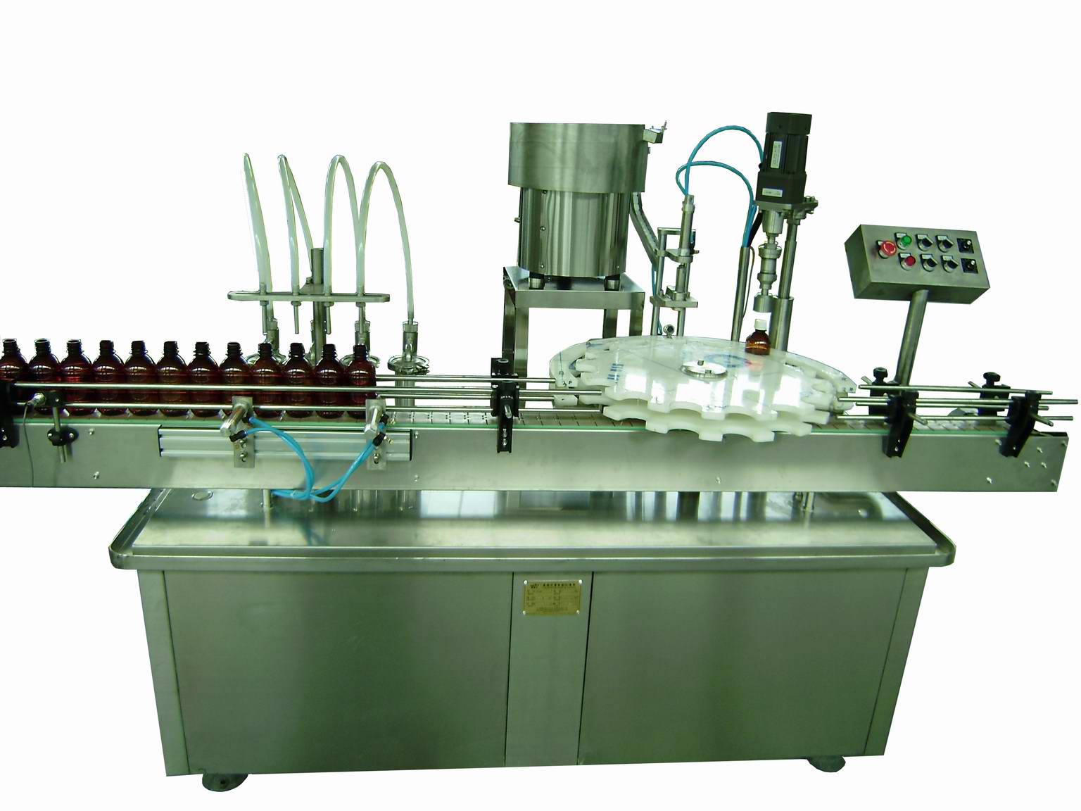 Liquid Filling Four Heads Filling-sealing Machine (JH-LF-4H)